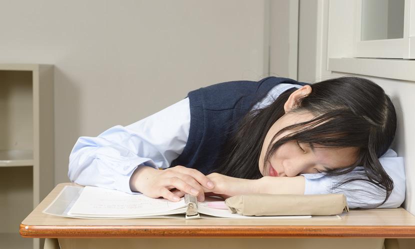 授業中、勉強中に眠い…眠気をなくす方法