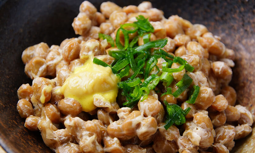 納豆の納豆菌も善玉菌 食物繊維も豊富