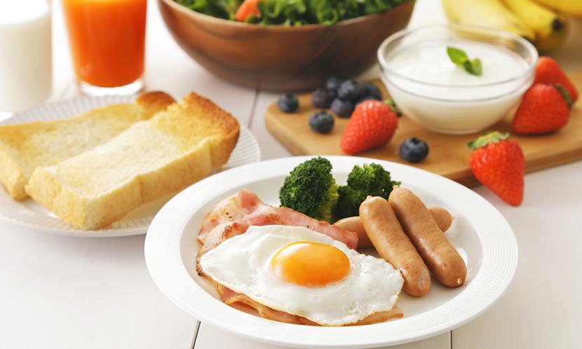 受験生は朝食を必ず摂ろう