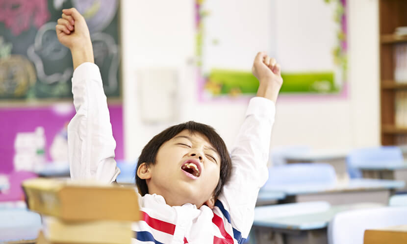 睡眠時間が少ないと子供にこんな影響が…成績、健康、精神に悪影響