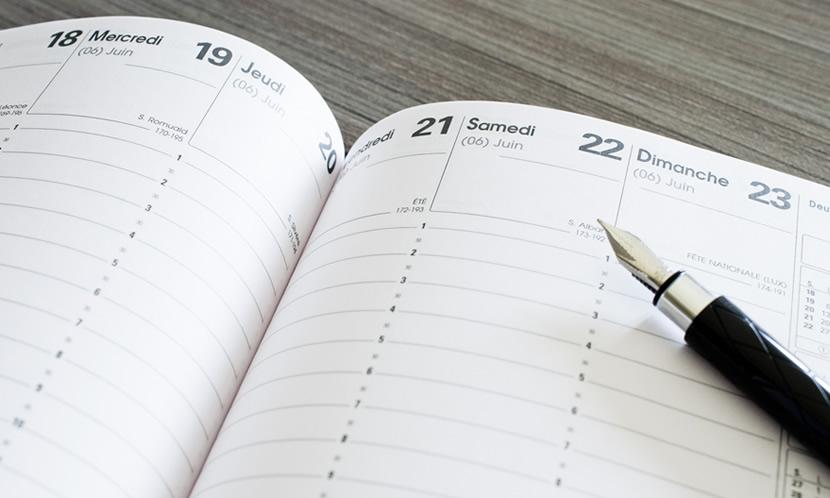 1日のスケジュール帳の書き方 勉強に使える時間を入力・書き込み把握する